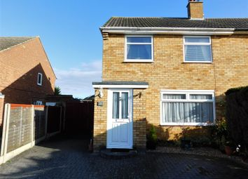 Thumbnail 3 bedroom semi-detached house for sale in Swinburne Avenue, Hitchin, Herts