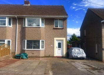 Thumbnail 3 bed semi-detached house for sale in Churchfield Avenue, Caldicot