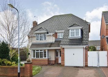 Thumbnail 4 bed detached house for sale in Kingscroft, Wimblebury, Cannock