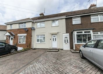 Thumbnail 3 bed terraced house for sale in Locksley Road, Eastleigh, Eastleigh, Hampshire