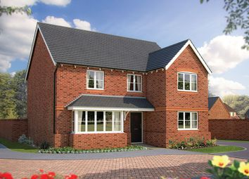 "Thumbnail 5 bed detached house for sale in ""The Chester"" at The Poppies, Meadow Lane, Moulton, Northwich"