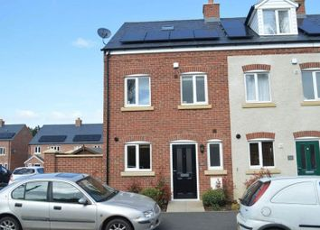 Thumbnail 3 bedroom end terrace house for sale in The Cloisters, Wood Street, Earl Shilton, Leicester