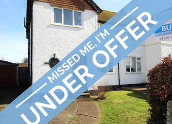 Thumbnail 4 bed semi-detached house for sale in Poplar Drive, Herne Bay