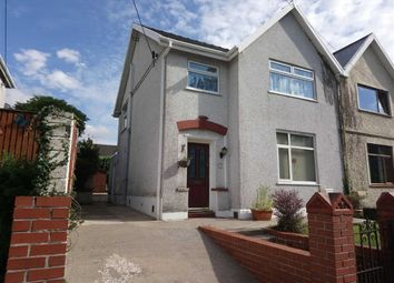 Thumbnail 3 bed semi-detached house for sale in Newton Road, Clydach, Swansea