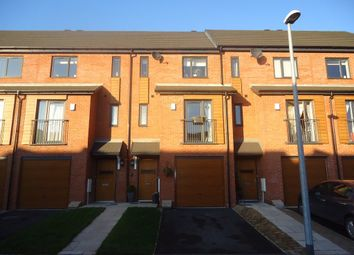 Thumbnail 3 bedroom town house for sale in Chaucer Way, Salford