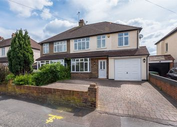 Thumbnail 4 bed semi-detached house for sale in First Avenue, Walton-On-Thames, Surrey