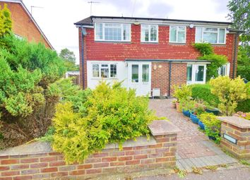Thumbnail 3 bed semi-detached house to rent in Foxfield Close, Northwood