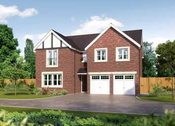 "Thumbnail 5 bed detached house for sale in ""Malborough II"" at Whittingham Lane, Broughton, Preston"