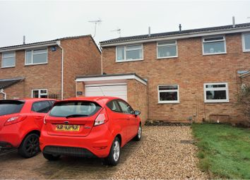 Thumbnail 3 bed semi-detached house for sale in Church Drive, Gloucester