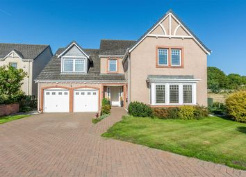 Thumbnail 5 bed detached house for sale in Hawthorndean Place, Inchture, Perthshire
