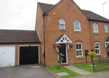 Thumbnail 3 bed semi-detached house for sale in The Oaks, Grange Park, Northampton