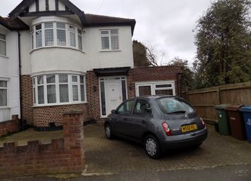Thumbnail 4 bed semi-detached house to rent in Kingshill Drive, Harrow