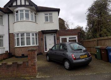 Thumbnail 4 bed semi-detached house to rent in Kingshill Drve, Kenton