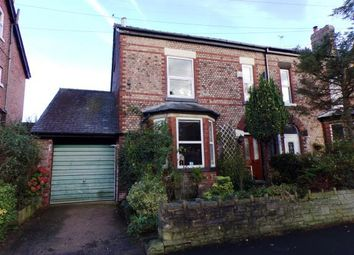 Thumbnail 4 bed semi-detached house for sale in Bowden Lane, Marple, Stockport, Cheshire
