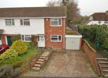 Thumbnail 3 bed semi-detached house for sale in Mackenders Lane, Eccles, Aylesford