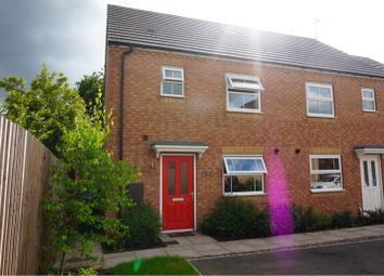 Thumbnail 3 bed end terrace house for sale in Walmsley Close, Coventry