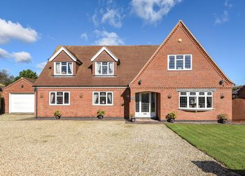 Thumbnail 5 bed detached house for sale in Roselea, Wainfleet Road, Firsby, Spilsby