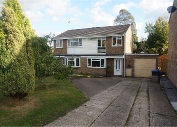 Thumbnail 3 bed semi-detached house for sale in Hawarden Close, Crawley