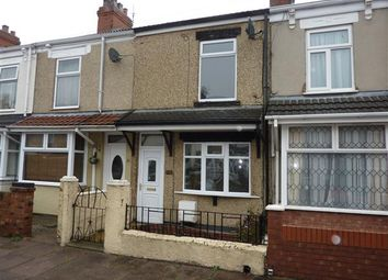 Thumbnail 2 bed terraced house for sale in Hutchinson Road, Cleethorpes