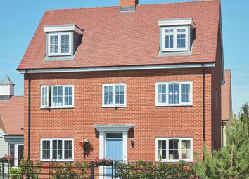 Thumbnail 4 bedroom detached house for sale in Fornham Place At Marham Park, Off Tut Hill, Bury St Edmunds