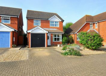 Thumbnail 3 bed detached house for sale in Wertheim Way, Stukeley Meadows, Huntingdon, Cambridgeshire