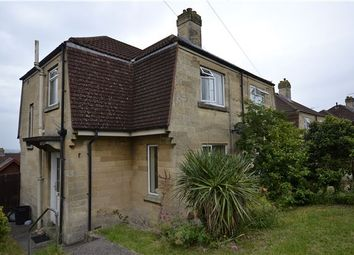 Thumbnail 2 bed semi-detached house for sale in East Close, Bath