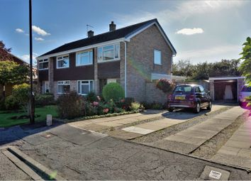 Thumbnail 3 bed semi-detached house for sale in Keble Park South, York