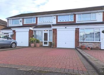 Thumbnail 3 bed terraced house for sale in Laurel Drive, Streetly, West Midlands