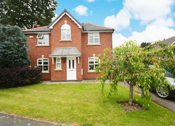 Thumbnail 4 bed detached house for sale in Bronington Close, Northenden, Manchester