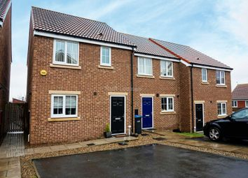Thumbnail 3 bed end terrace house to rent in Church Square, Brandon, Durham