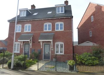 Thumbnail 4 bedroom town house for sale in Winter Gate Road, Longford, Gloucester