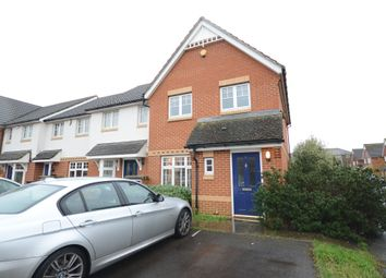 Thumbnail 3 bed end terrace house to rent in Clonmel Close, Caversham, Reading
