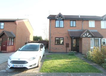 Thumbnail 3 bed semi-detached house for sale in Leysmill Close, Hinckley