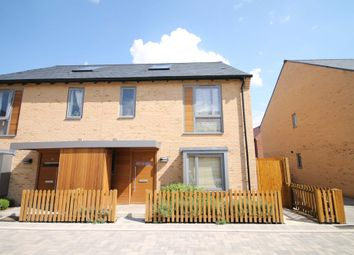 Thumbnail 4 bed semi-detached house to rent in Banner Road, Trumpington