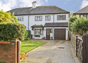 Thumbnail 4 bed semi-detached house for sale in Thornhill Road, Ickenham