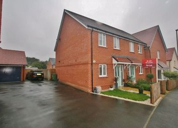 Thumbnail 2 bed terraced house to rent in Saunders Way, Basingstoke