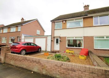 Thumbnail 3 bed semi-detached house for sale in Cumwhinton Road, Carleton, Carlisle