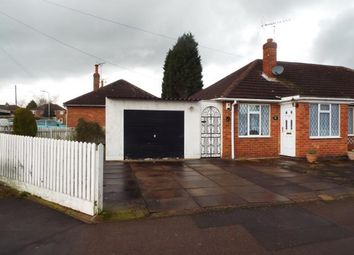 Thumbnail 2 bedroom bungalow for sale in Blenheim Road, Birstall, Leicester, Leicestershire