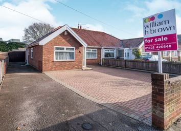 Thumbnail 2 bedroom semi-detached bungalow for sale in Falcon Road East, Sprowston, Norwich