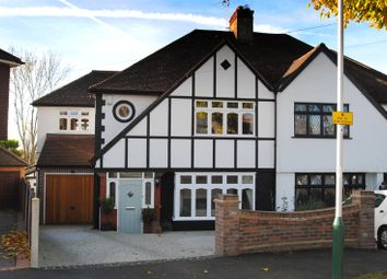 Thumbnail 4 bed semi-detached house for sale in Spenser Crescent, Upminster, Essex