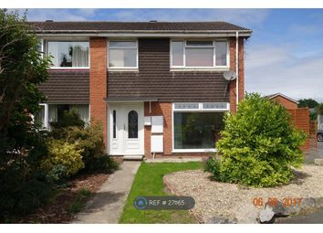 Thumbnail 3 bedroom end terrace house to rent in Verbena Way, Weston Super Mare
