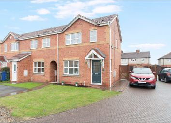 Thumbnail 3 bed town house for sale in Storrs Wood View, Barnsley