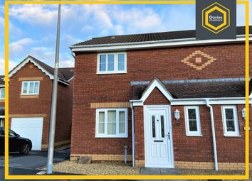 Thumbnail 3 bed semi-detached house to rent in Pant Bryn Isaf, Llwynhendy, Llanelli