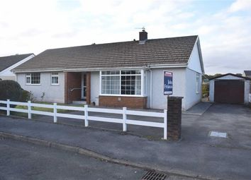 Thumbnail 3 bed detached bungalow for sale in Maes Y Coleg, Llandovery