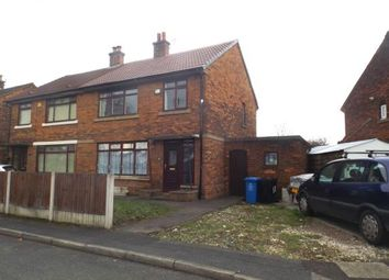 Thumbnail 3 bed semi-detached house for sale in Winchester Road, Urmston, Manchester, Greater Manchester