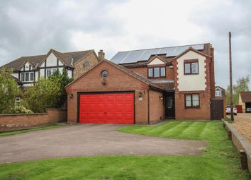 Thumbnail 4 bedroom detached house for sale in West Fen Road, Ely