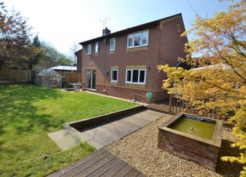 Thumbnail 4 bed detached house for sale in Chestnut Drive, Holmes Chapel, Crewe