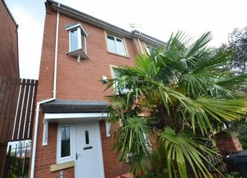 Thumbnail 4 bed terraced house to rent in Sadler Court, Manchester