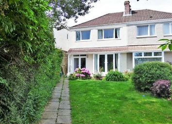 Thumbnail 3 bed semi-detached house for sale in Hadland Terrace, West Cross, Swansea