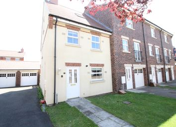 Thumbnail 4 bed terraced house for sale in Nursery Lane, Merrybent, Darlington, County Durham